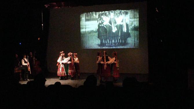 Archív és napjaink magyarlapádi leánykörtánca