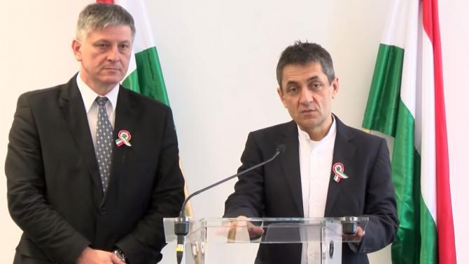 Potápi Árpád János és Dr. Grezsa István