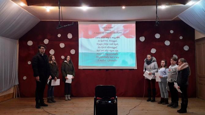 Magyar kultúra napja Tiszakálmánfalván