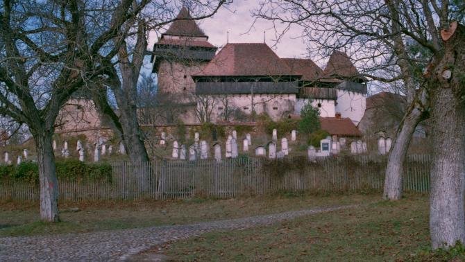 A szászfehéregyházi szász evangélikus erődtemplom - Konica Minolta 100