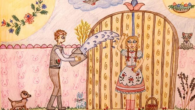 Balunovity Anna 11 éves, Csóka