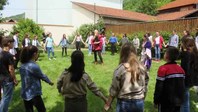 Reneszánsz táncok az udvaron