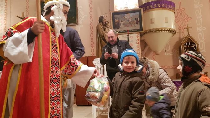 Mikulás-program Kisoroszon