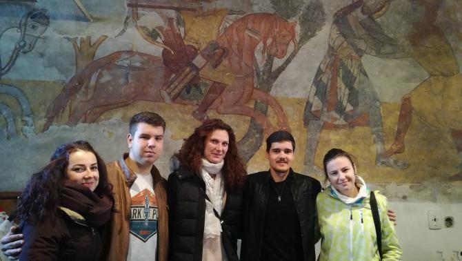 Szent László freskó nyomában