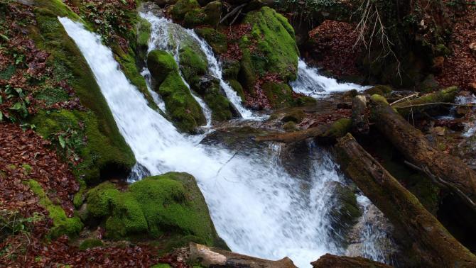 Sipote vízesés és barlangja