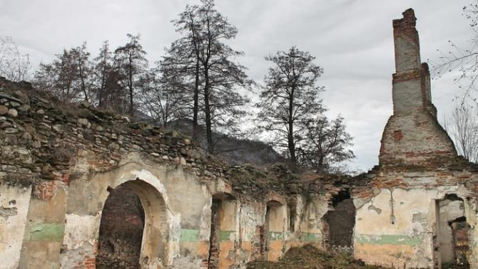 Malomvíz, Kendeffy-kúria romjai