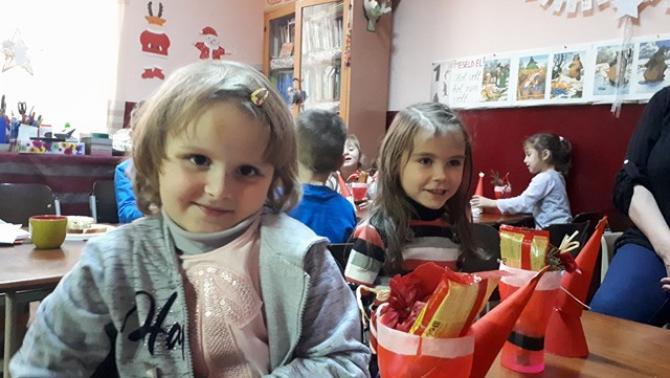 Gyermekek az óvodában