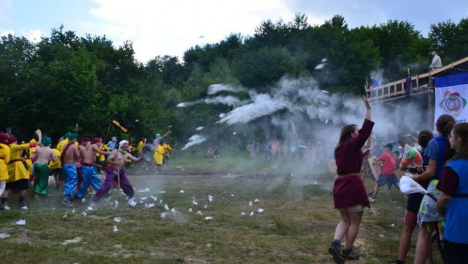 Az egri várvédők végső összecsapása a török hadakkal
